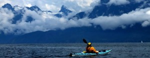 Mount Denman 'peaks' out  in Desolation Sound